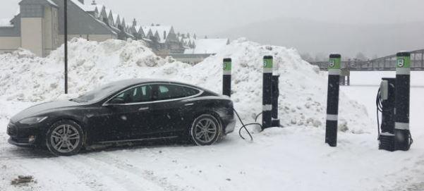 Killington becomes largest EV charging hub in New England